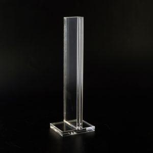 Speisekarten- oder Eiskartenhalter aus Acrylglas