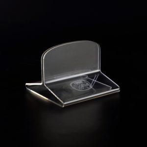 Eiskarten-Halter aus Acrylglas für Nestle