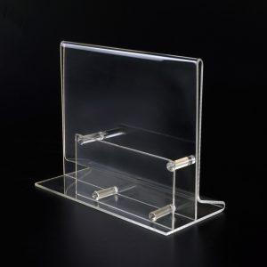 Praktischer Visitenkartenhalter aus Acrylglas