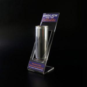 Dosenhalter aus Acrylglas