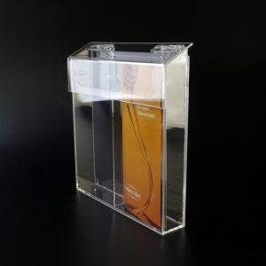 Broschürenbox aus Acrylglas