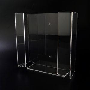 Papierhalter aus Acrylglas