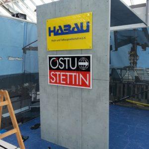 Messestand für HABAU Hoch- und Tiefbaugesellschaft
