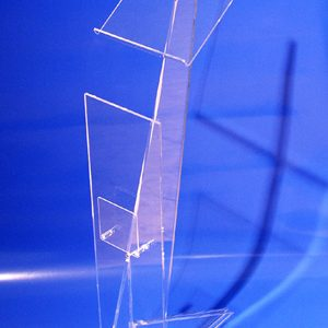 Ablage aus Acrylglas