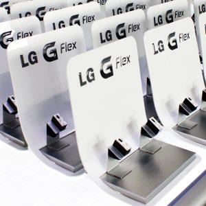 Acrylglasgestaltung für LG