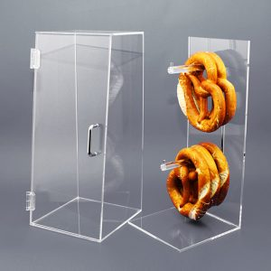 Original Spuckschutz® Brezelbox aus Acrylglas