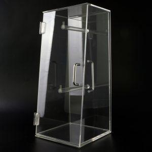 Original Spuckschutz® Brezenbox aus Acrylglas