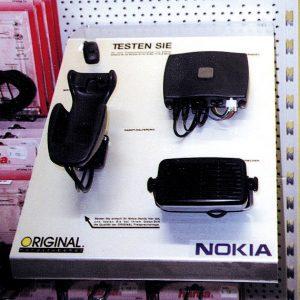 Displaybau für Nokia