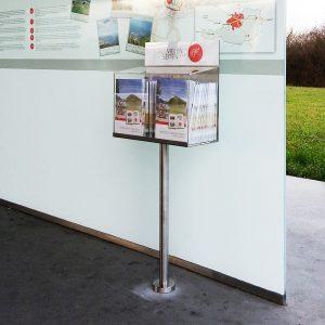 Display für Oberösterreich Tourismus Information