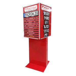 Displaybau für TAXOM Preisauszeichnungssystem