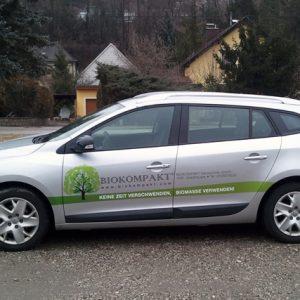 Autofolie für Biokompakt Heiztechnik in Waldhausen