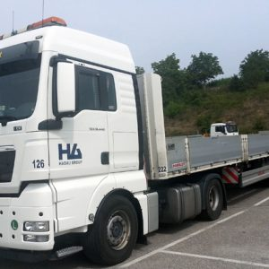 LKW-Folie für HABAU Hoch- und Tiefbau