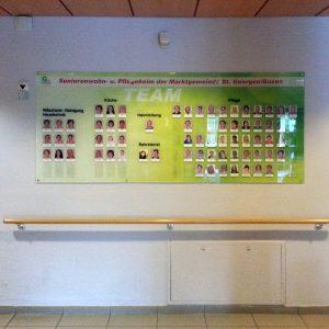Foliengestaltung für Seniorenwohn- und Pflegeheim St. Georgen/Gusen
