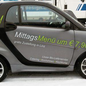 Autofolie für Smart