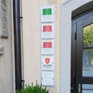 Foliengestaltung für Schloss Steyregg